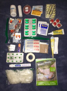 Everything In my First Aid Kit.