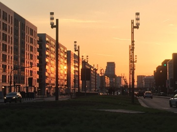 frankfurt-messe-sunset