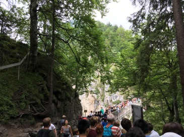 The line for Marie's Bridge